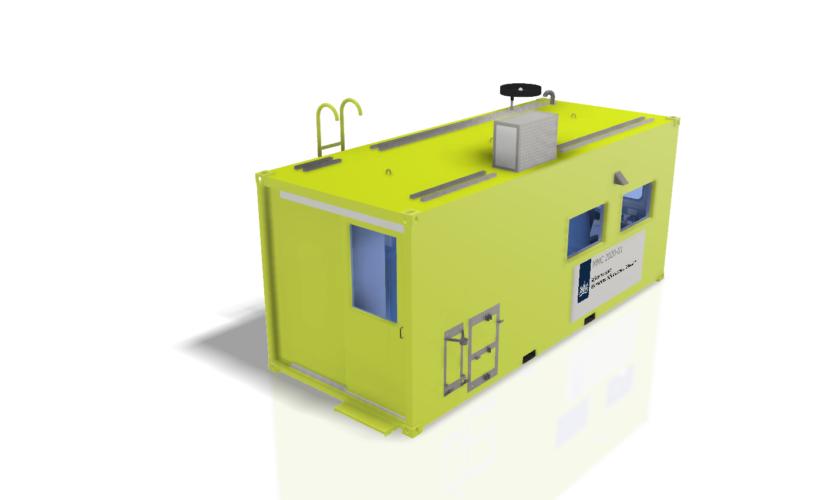 milieu meet container schets