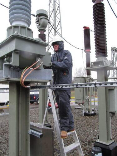 Installatie Beveiligingskasten DNWG Infra