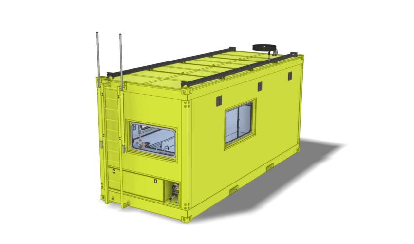 Meet container onderzoek