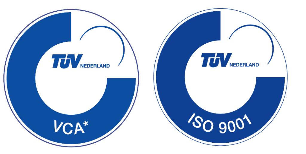 VCA en ISO9001 logo